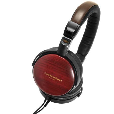 Audio Technica ATH ESWA Portable Wooden Headphones 45 - 292