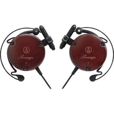 Audio Technica Adjustable Wooden Clip on Headphones 331 - 32