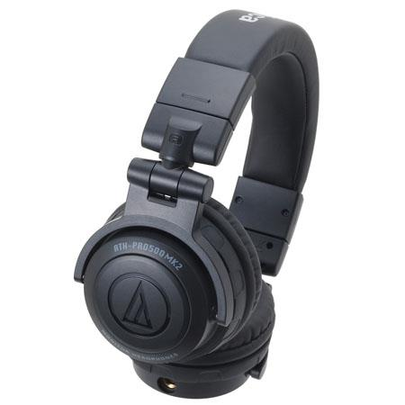 Audio Technica ATH PROMK Professional DJ Monitor Headphones Hz Frequency Response mW Input Power Ohm 62 - 632