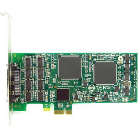 Axxon Port RS PCI Express Controller Card LowStandard Height Mounting 87 - 625