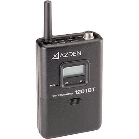 Azden BT UHF Body Pack Transmitter Digital Display URXAB URXVM and URXSi Receivers Lapel Mic not Inc 97 - 77
