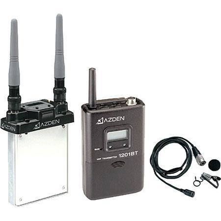 Azden SIS UHF Body Pack System Consists of URXSi BT and ECM  44 - 590