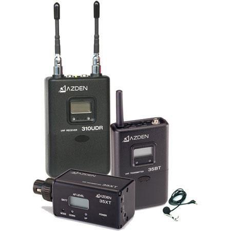Azden LX UHF On Camera Bodypack and Plug System 85 - 71