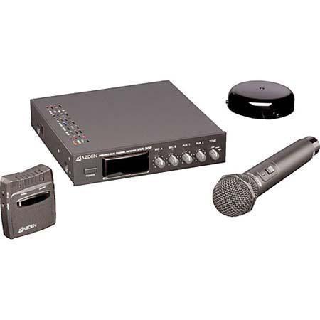 Azden IR CS Infrared Wireless Microphone Ceiling Mounted Speaker System Classrooms 24 - 131