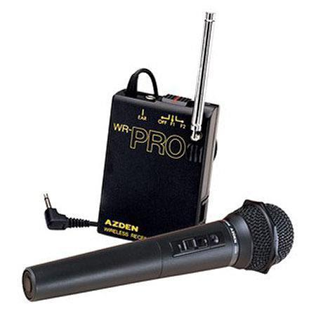 Azden WHX Pro Hand Held VHF Wireless Microphone System 207 - 281