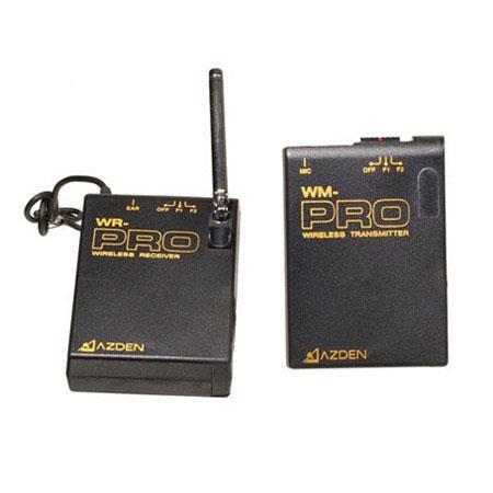Azden WLX Proi Wireless Dual Mic System Belt Pack Transmitter WM PRO Electret Condenser Headset Mic  207 - 281