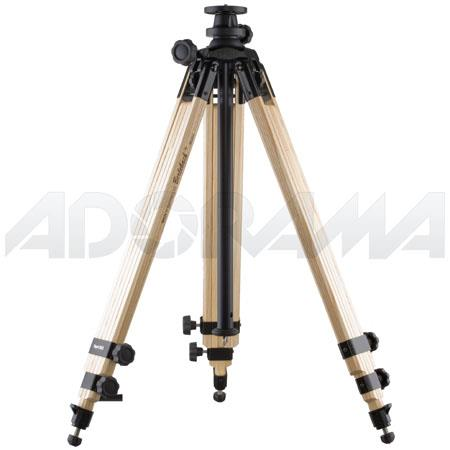 Berlebach Three section Wood Tripod Legs Center Column Height up to Supports lbs 145 - 100