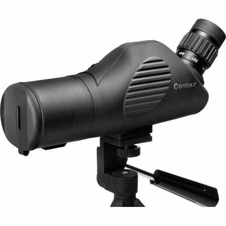 BarskaWaterproof Tactical Angled Scope Mil Dot Reticle Side Focus System Fully Multi coated Tripod S 112 - 272
