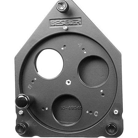 Beseler Three Lens Turret the Series Enlargers Works Most Lenses 66 - 124