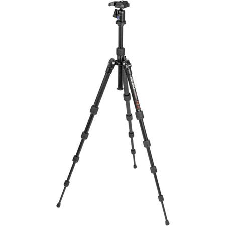 Benro ATBH Travel Angel Aluminum Tripod Ballhead and Case Maximum Height Supports lbs 112 - 464