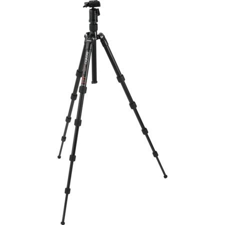 Benro ATBH Travel Angel Aluminum Tripod BH Single Action Ballhead and Case Maximum Height Supports l 207 - 281