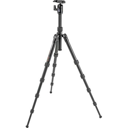 Benro ATBH Travel Angel Aluminum Tripod BH Single Action Ballhead and Case Maximum Height Supports l 268 - 32