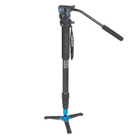 Benro ATB Video Monopod AL Twist Lock Leg Folding Base lbs Load Capacity 146 - 76