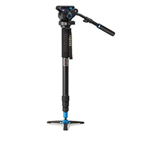 Benro S Series ATBS Twist Lock Aluminum Video Monopod Kit S Head Leg Folding Base Flip Lock Leg Rele 246 - 502