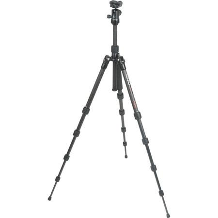 Benro CTB Transfunctional Travel Angel Carbon Fiber Tripod B Dual Action Ballhead and Case Maximum H 120 - 389