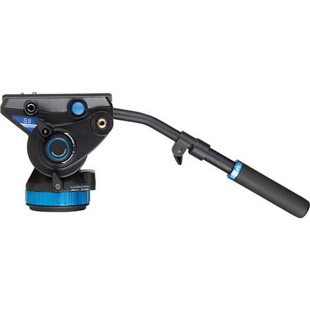 Benro S Pro Video Head Flat Base Connection lbs Capacity 134 - 125