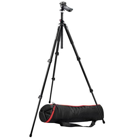 Manfrotto BGMTXP Tripod Kit RC Grip Action Ball Quick Release Head Manfortto MBAGP Case 98 - 429