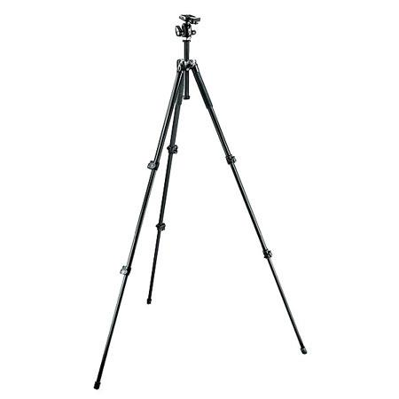 Manfrotto Aluminum Section Tripod Quick Release Ball Head MaHeight Supports lbs  198 - 101