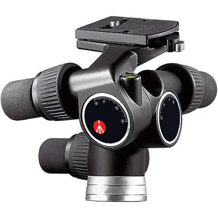 Manfrotto Pro Digital Geared Head Quick Release Supports lb 138 - 652