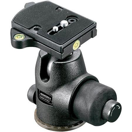 Manfrotto MGRC Hydrostatic Ball Head Heavy Duty RC Rapid Connect System Supports lbs 64 - 764