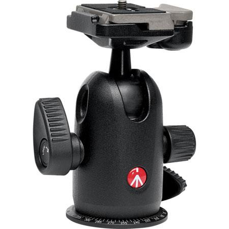 Manfrotto RC Midi Ball Head RC Rapid Connect Plate Maximum Load lbs kg 29 - 716