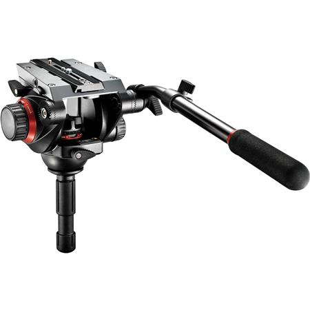 Manfrotto HD Video Fluid Quick Release Head Supports lbs 42 - 390