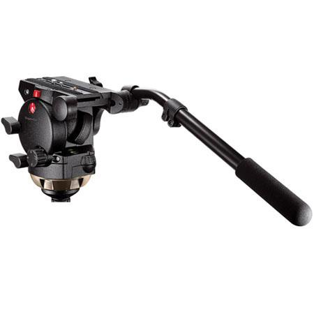 Manfrotto Pro Video Fluid Head Quick Release Supports lbs 145 - 265