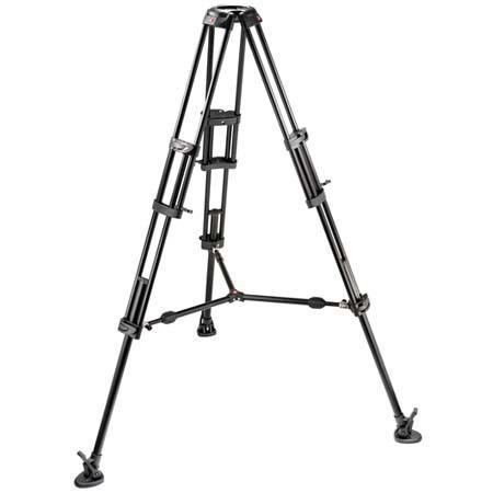 Manfrotto B Stage Section Twin Leg Lightweight Aluminum Professional Video Tripod Mid Level Spreader 121 - 389
