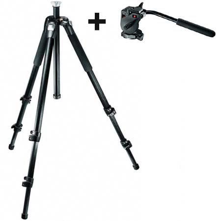Manfrotto RC Mini Video Head and CXV CF Tripod View Section 63 - 461