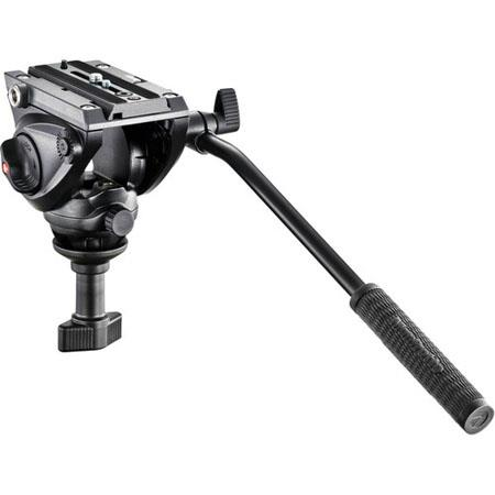 Manfrotto MVHA Professional Fluid Video Head Half Ball kg lbs Payload 192 - 532