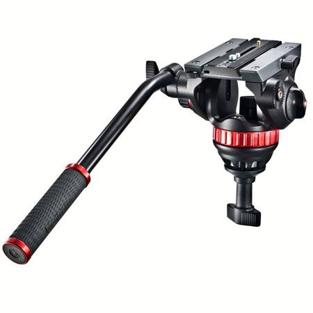 Manfrotto MVHA Pro Video Head Quick Release and Half Ball Supports lbs 94 - 248