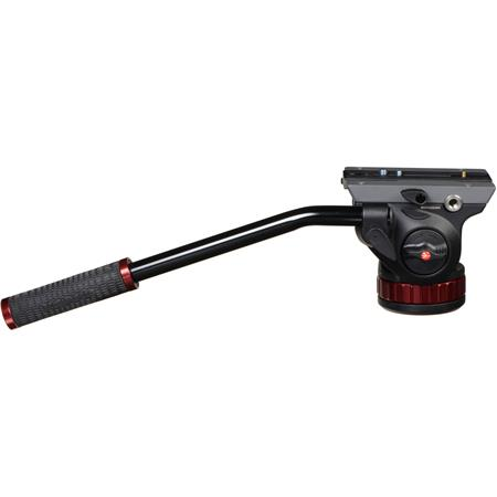 Manfrotto MVHAH Pro Video Head Quick Release and Flat Base Connection Supports lbs 281 - 112
