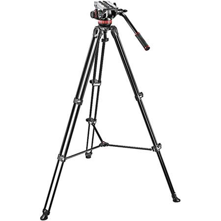 Manfrotto MVHA Fluid Head and MVTAM Tripod System Carrying Bag lbs Capacity 86 - 358