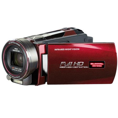 Bell Howell DNVHDZ Full HD Rogue Night Vision Camcorder MP LCD MonitorOptical ZoomDigital Zoomp Reso 134 - 125