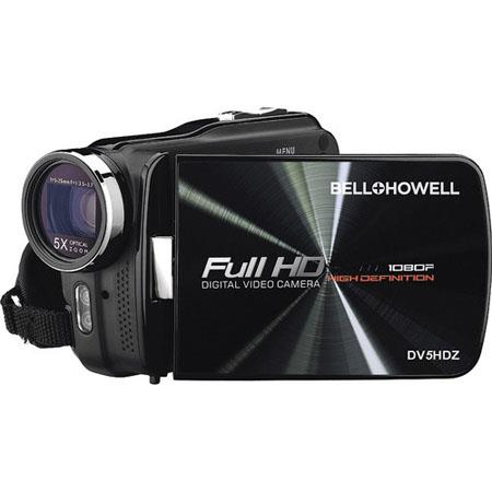 Bell Howell DVHDZ High Definition p Slim Camcorder MP LCD DisplayOpticalContinuous Zoomp Resolution  108 - 411