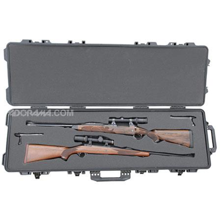 Boyt Harness H Hard Sided Travel Case a High Density Foam Interior Holds Two Long Rifles Padlock Com 75 - 357