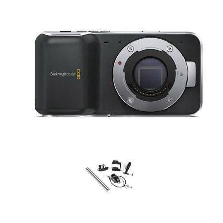 Blackmagic Pocket Cinema Camera MFT Mount Bundle Wooden Camera Fixed Kit Pocket 252 - 670