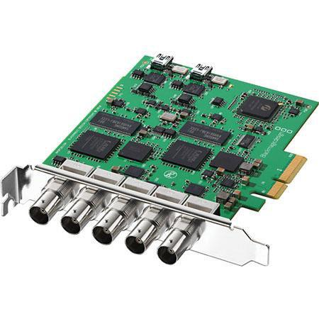 Blackmagic Design DeckLink Duo SDI Inputs and SDI Outputs Switchable Between SD and HD 0 - 386