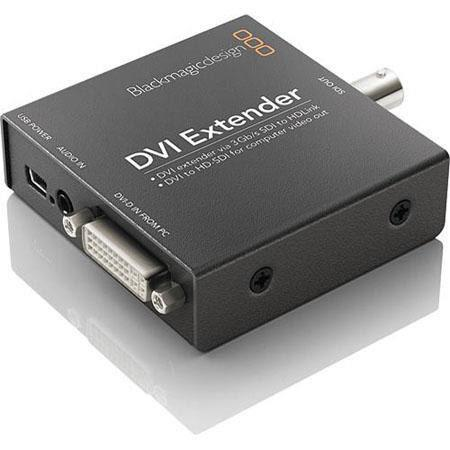 Blackmagic Design HDLEXT DVI DVI Extender SDHD SDI GBs SDI Technology USB Powered 53 - 496