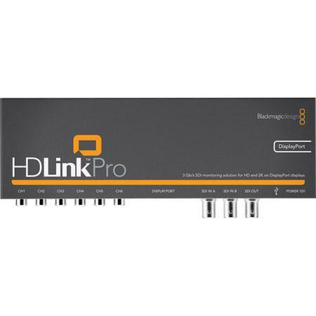 Blackmagic Design HDLink Pro D Displayport DVIHDMI Monitoring Channels RCA Analog Audio Out D Lookup 0 - 386