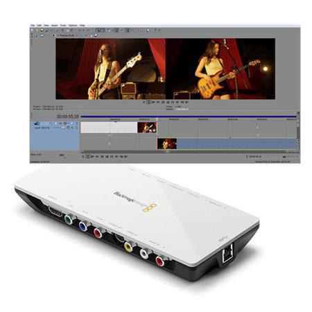 Blackmagic Design Intensity Shuttle Bundle Sony Vegas Pro Video Editing Software 64 - 734