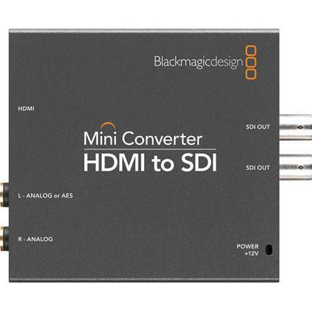 Blackmagic Design Mini Converter HDMI to SDI Embedded Audio 23 - 222