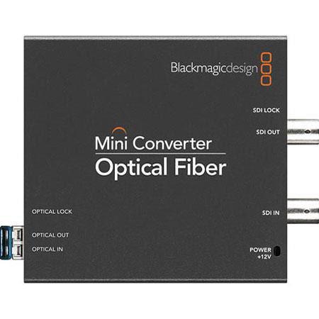 Blackmagic Design Mini Converter Optical Fiber SDI to HDMI Video Embedded HDMI Audio Plus Balanced A 135 - 350