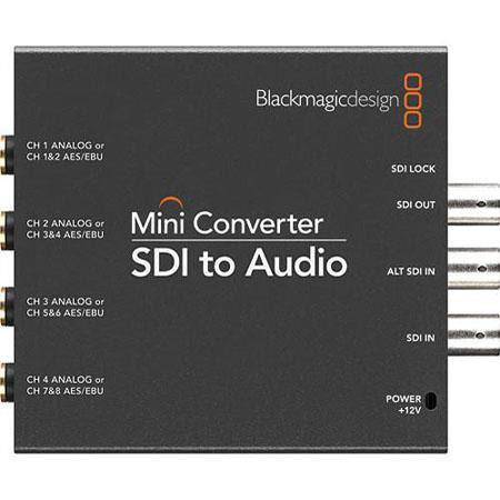 Blackmagic Design Mini Converter SDI to Audio 181 - 377