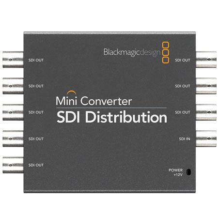 Blackmagic Design SDI Distribution Amplifier Mini Converter 23 - 222