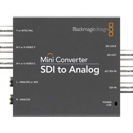 Blackmagic Design Mini Converter SDI to Analog Embedded Audio 145 - 431