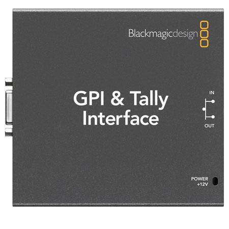 Blackmagic Design GPI and Talley Interface 82 - 427