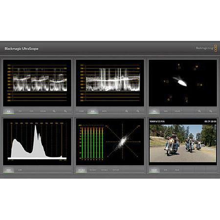 Blackmagic Design Ultrascope Gbs SDI and Optical Fiber SDI Scope 220 - 361