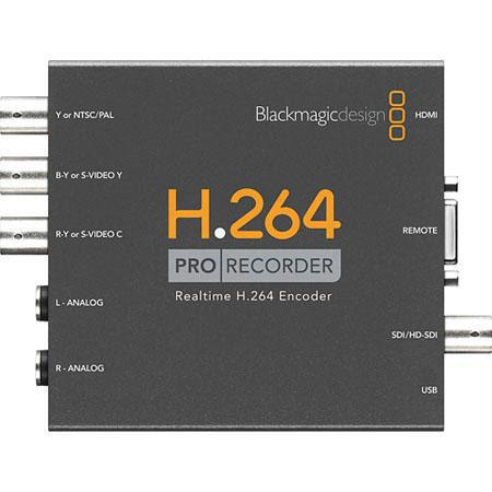 Blackmagic Design H Pro Recorder Distributes H Video Files to Websites YouTube iPhone iPad Captures  82 - 427