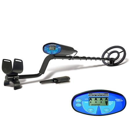 Bounty Hunter Quicksilver Metal Detector Open Waterproof Coil and Pinpointer 168 - 211